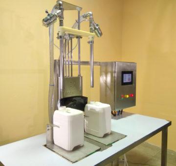 Весовой дозатор ДВ-2ПН в исполнении на столе