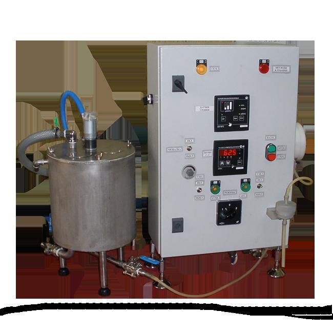 Дозирующая лабораторная установка с реактором