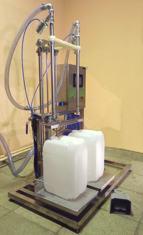Весовой дозатор в канистры 20 литров