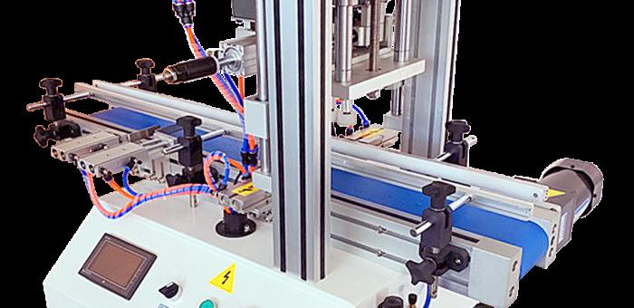 Автоматический ротационный укупор для пластиковой и стеклянной тары с резьбой