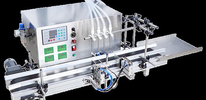 Автоматический 4-х канальный перистальтический дозатор