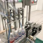 Оборудование для розлива жидкостей в бутылки.
