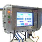 Сенсорная панель управления взрывозащищенным дозатором для жидкости