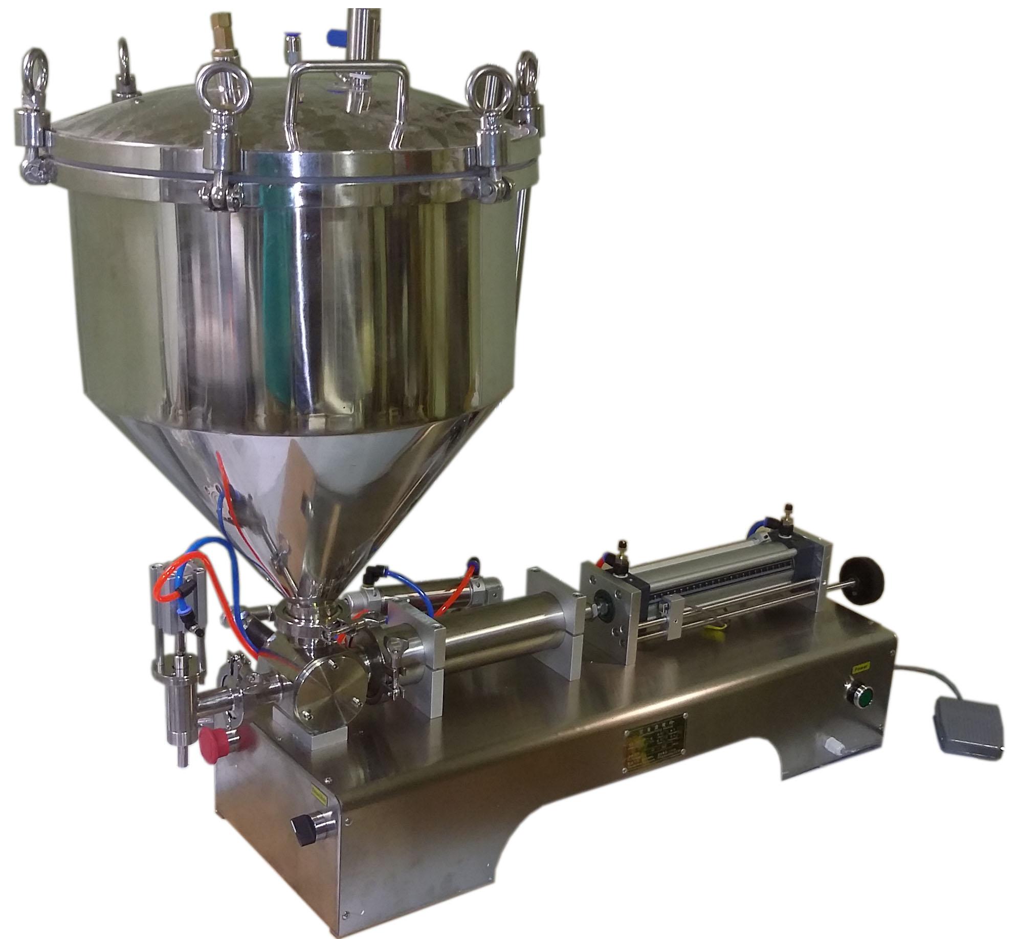 Поршневой дозатор для густых и вязких продуктов УД-1