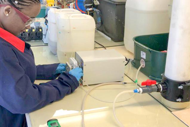 Перильстатические насосы в лаборатории
