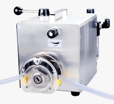 Пневматический перистальтический (шланговый) насос QT600