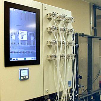 Дозатор в системе очистки воды
