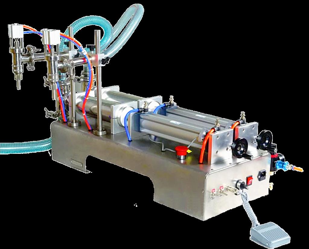 Двухканальный пневматический поршневой дозатор ПД-2ПН